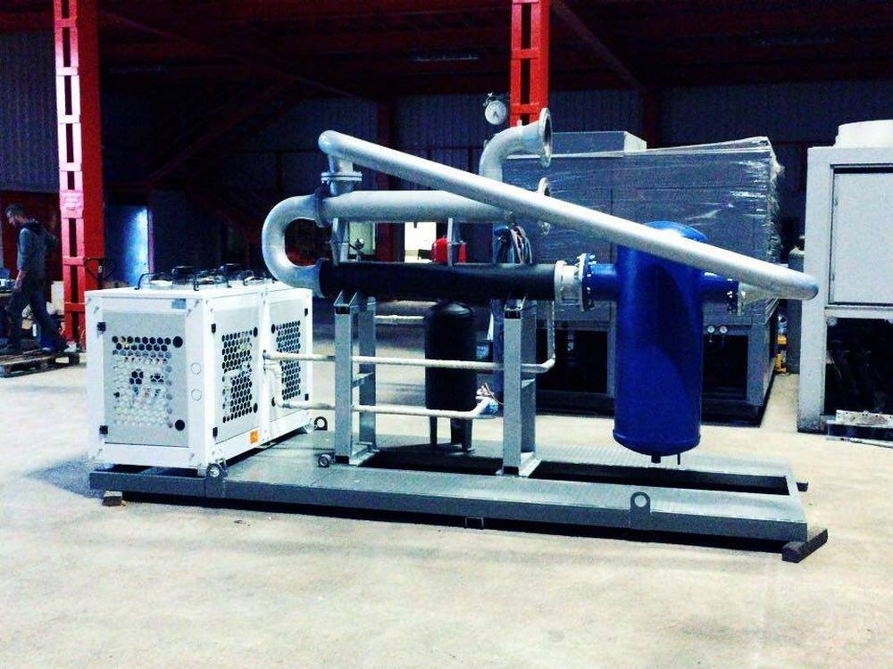 Methane Gas Cooling System