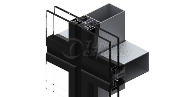 EF-50 Curtain Wall Stick System