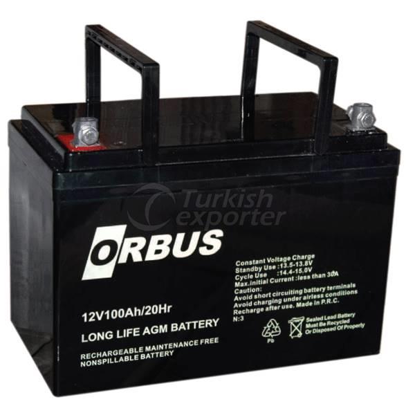 Gel Batteries Orbus 12v