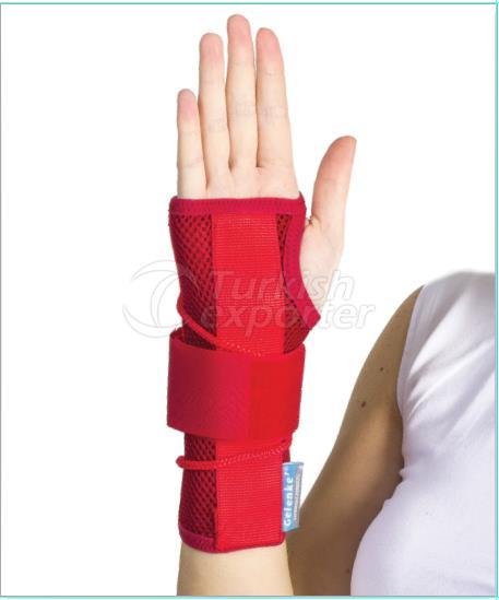Static hand & wrist splint (airtex