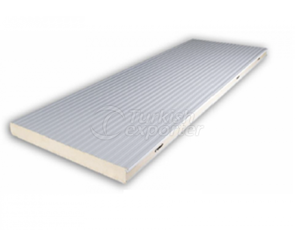 Channelled Flat Sandwich Panel