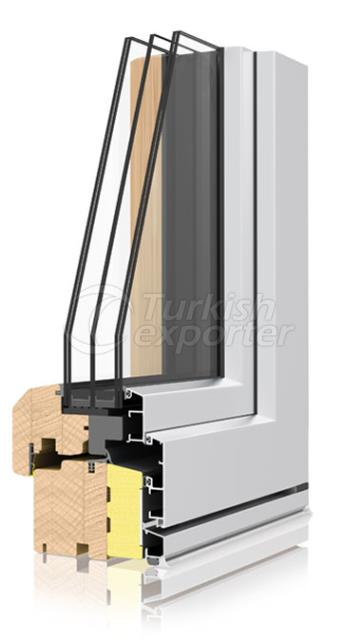 Wooden Aluminum Window and Door Systems -Termoscudo