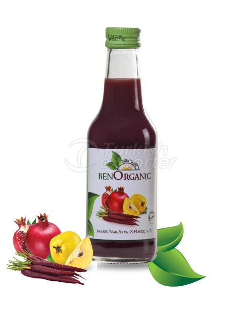 Pomegranate-Quince-Carrot Juice