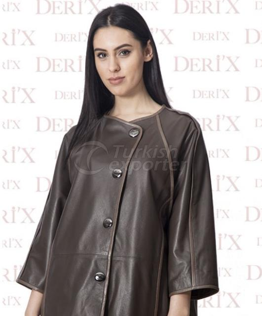 Leather Jackets B-2160 Brown