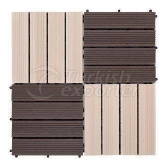 wpc composite tile deck