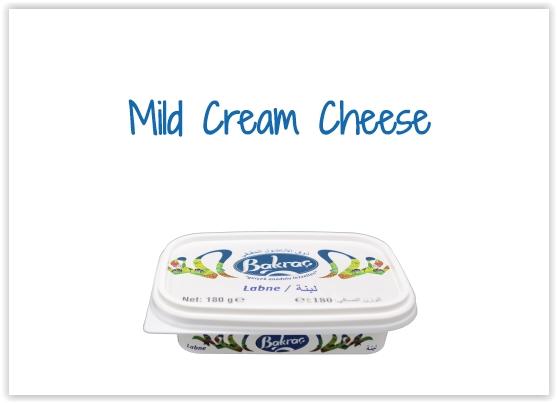 Spreadable Cheeses - Mild Cream Cheese