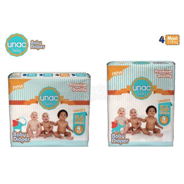 Un0004 - Unacbaby Diapers Maxi