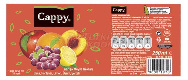 Cappy Juice Label
