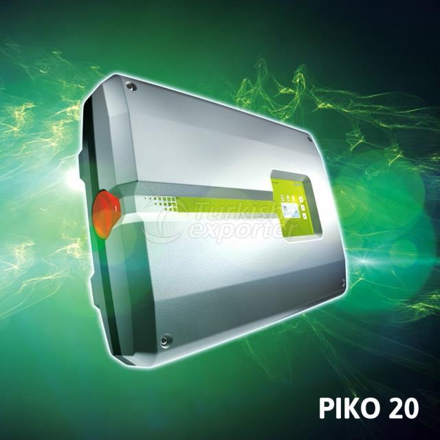 Piko 20 Kostal en el inversor de red