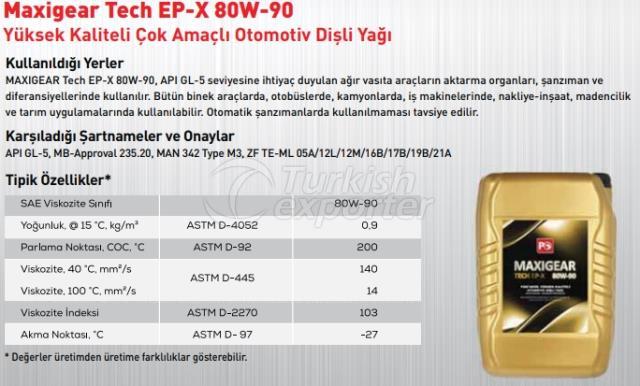 Maxigear Tech Ep-X 80W-90