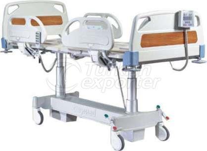 Cama de cuidados intensivos para el paciente