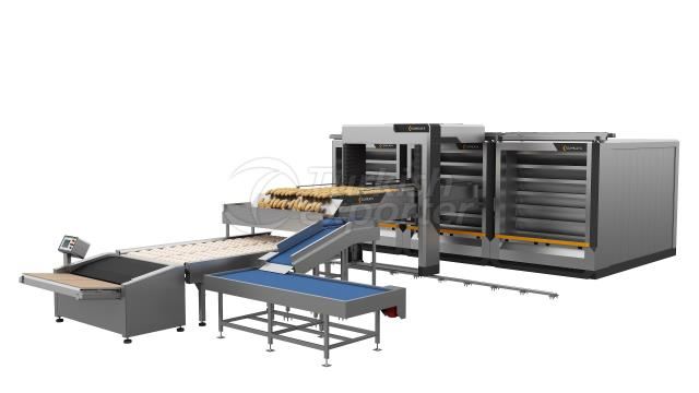 Automatic Steam Tube Oven  6 Deck