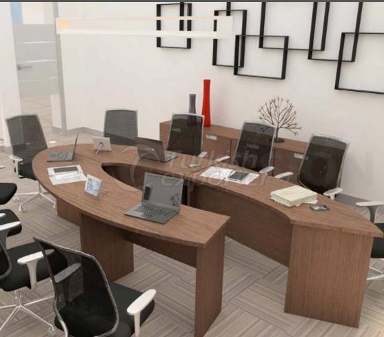 Table de réunion consept