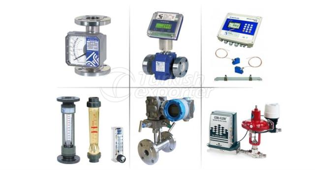 Flowmeters and Flow Measuring Controlling