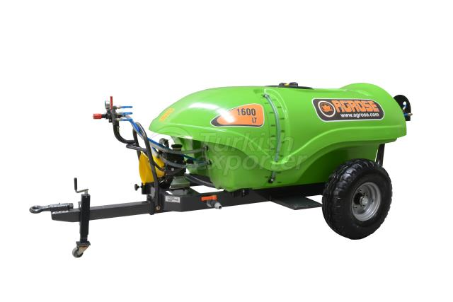 Trailed Type Garden Sprayer 1600 lt