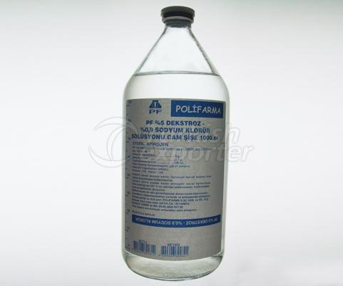 PF 5 Dekstroz 0.9 NaCl 1000ml