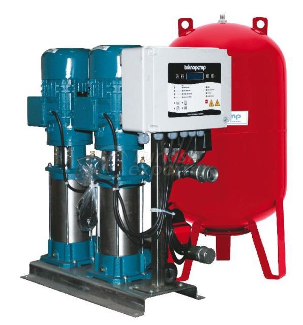 Pompe de pression d'eau verticale série MNV