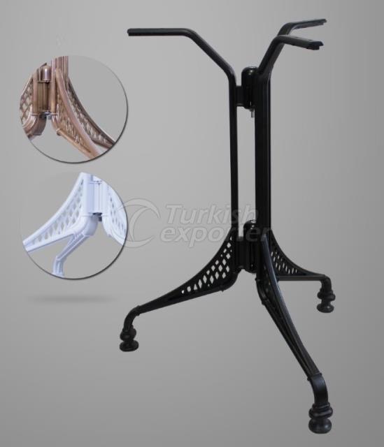 ATS-MA230 Aluminium Table Leg Metal
