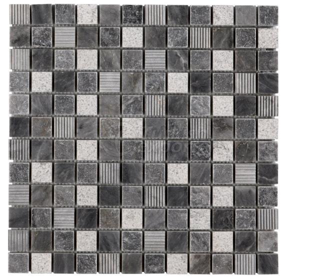 2,3x2,3 Bluestone Nailed Tumbled