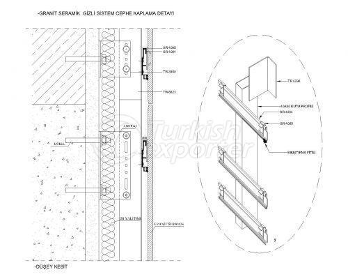 Ceramic Facade & Compact Profiles - System Details