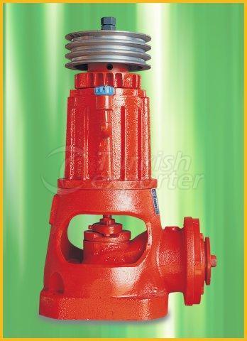 вертикальный  турбинный насос