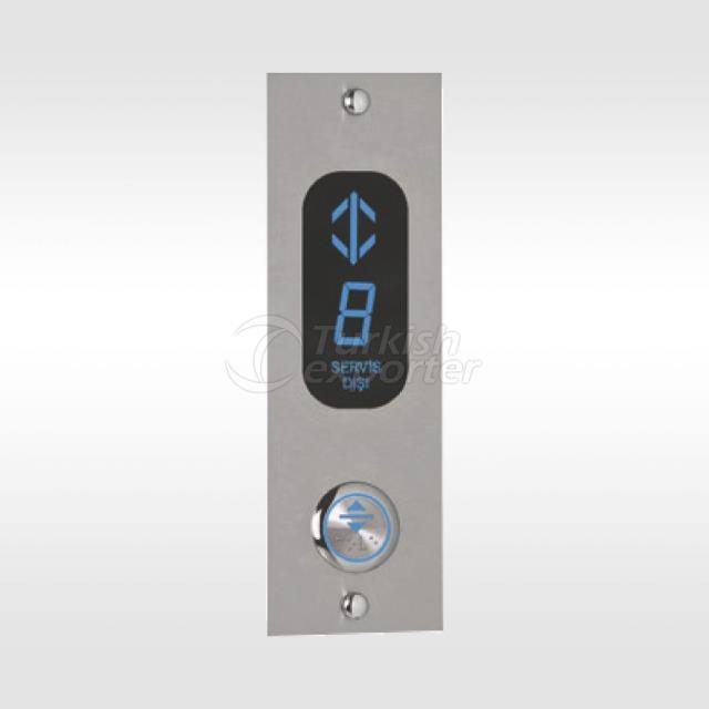 Asansör Düğmeleri