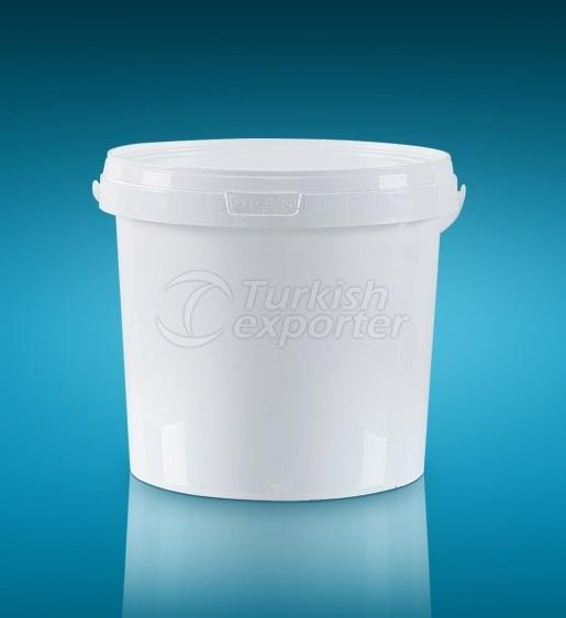 Round Packages Bucket 10LT