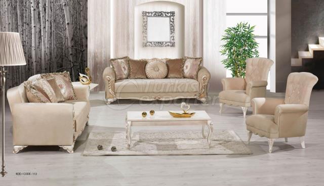 Living Room Furniture Violet