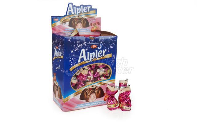 ALPLER SINGE TWIST BULK CHOCOLATE 2KGX6 STRAWBERRY