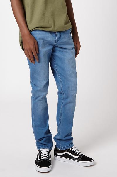 Spray on Skinny Jeans – Light Indigo