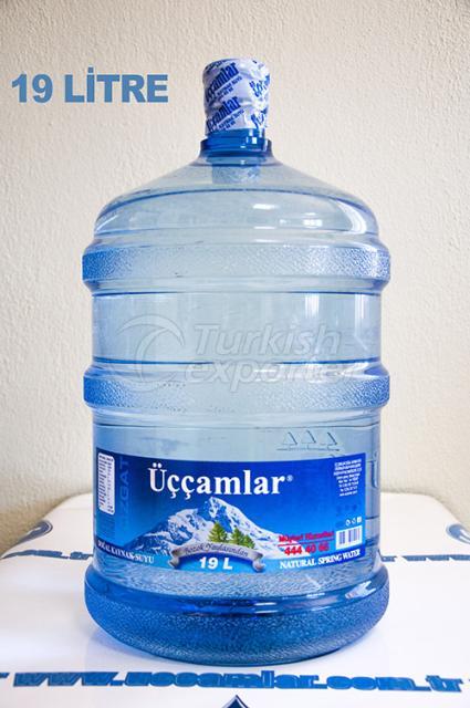 Natural Spring Water 19 Liter