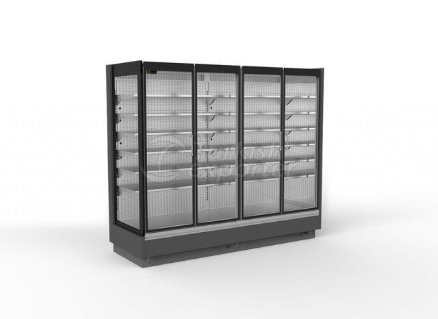 Refrigerated Multideck Cabinet LION SKY Full Glass