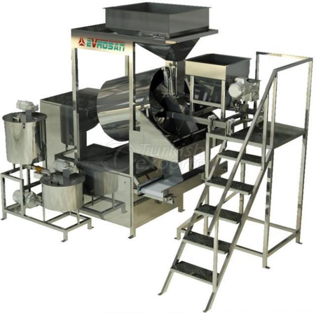 Automatic Manual Nut Salting Machine