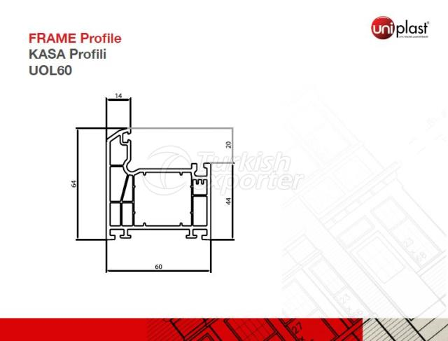 Frame Profile UOL60
