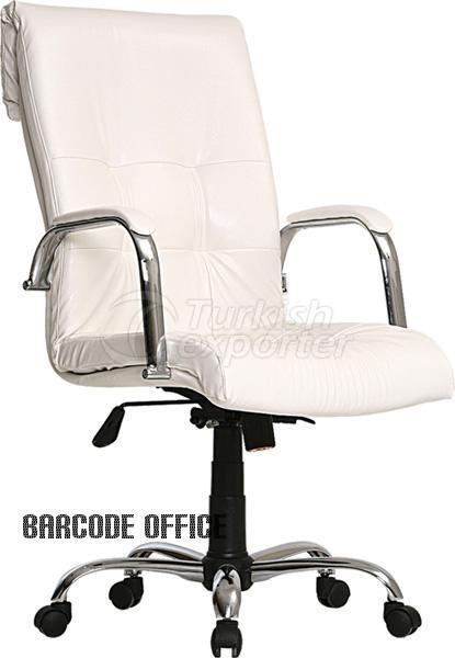 Cadeiras de escritório Lord Beyaz