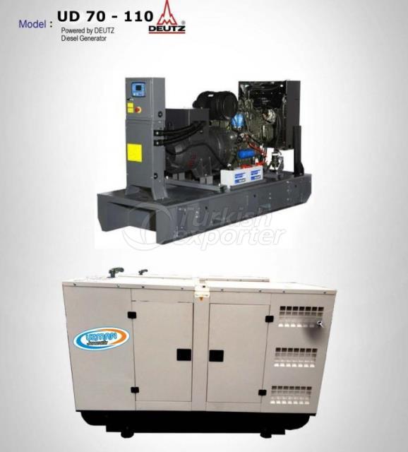 Diesel Generator - UD 70 - 110