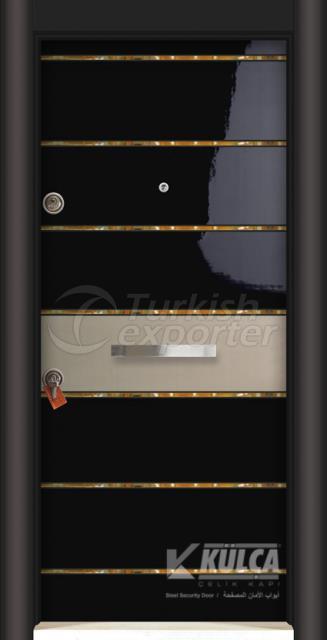 D-2025 (PVC STEEL DOOR )