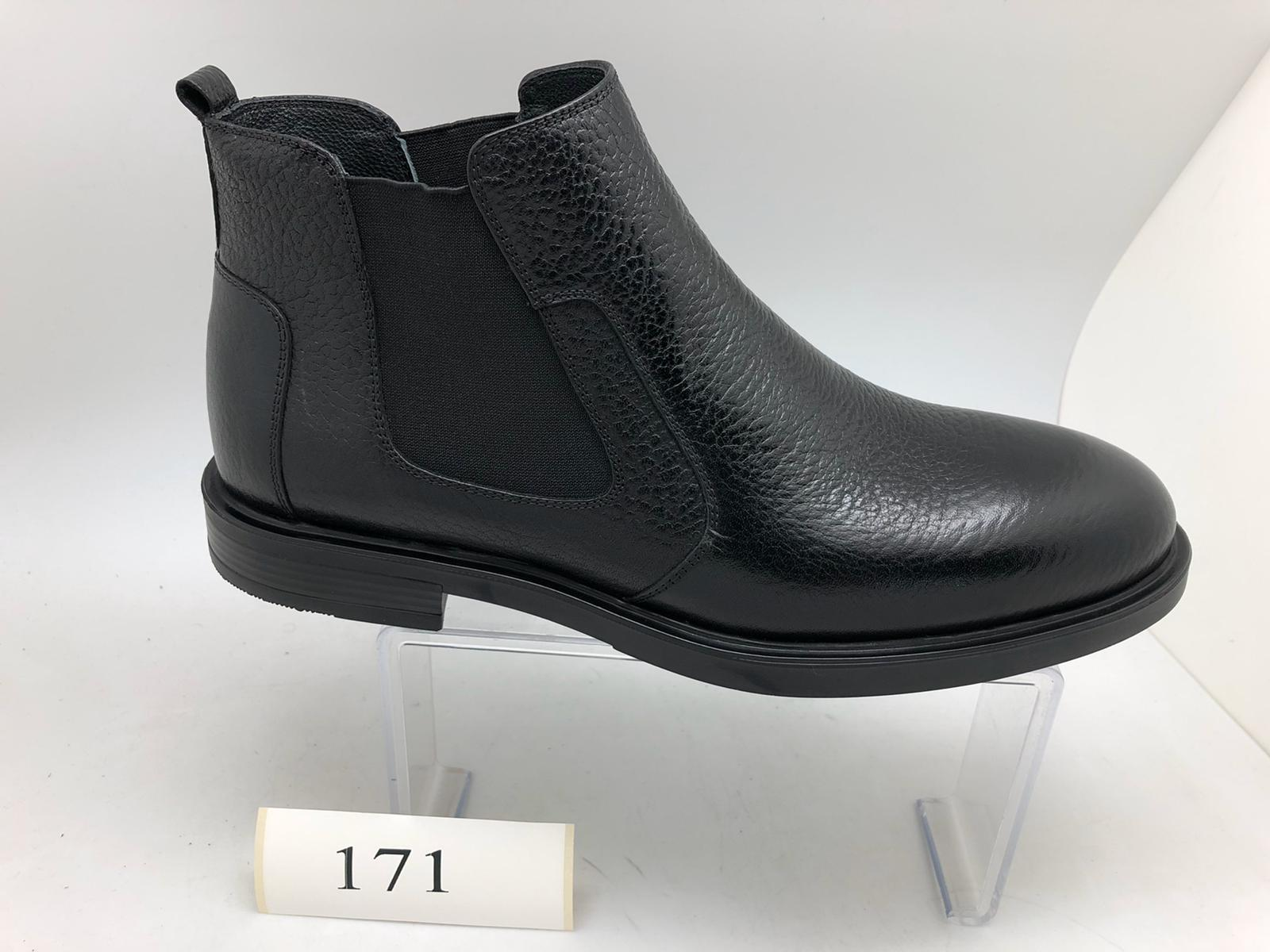 Rubber sole boots-171, Inner Outer Genuine leather, Available:Tpu, Neolite, microlight, thermo, Eva