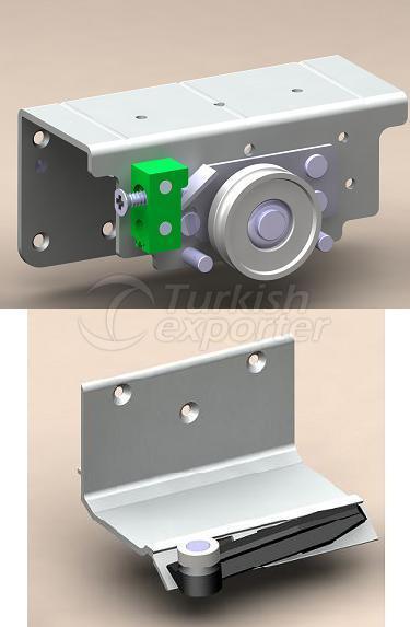 ALB 8040 - 70 kg Adjustable Sliding Door System