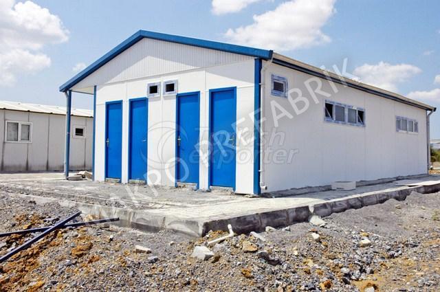 Prefabricated WC Shower Buildings