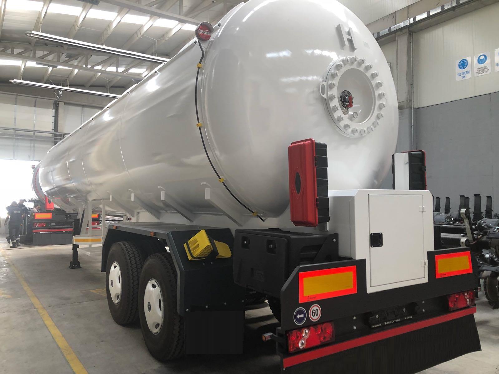 50 m3 LPG Transporter Tanks