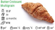 Butter Croissant Multigrain