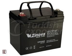 12V 33AH Ah Dry Type Maintenance Free Battery