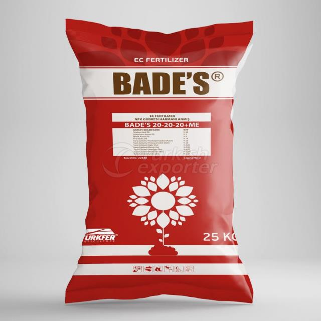 BADE'S 20.20.20-ME