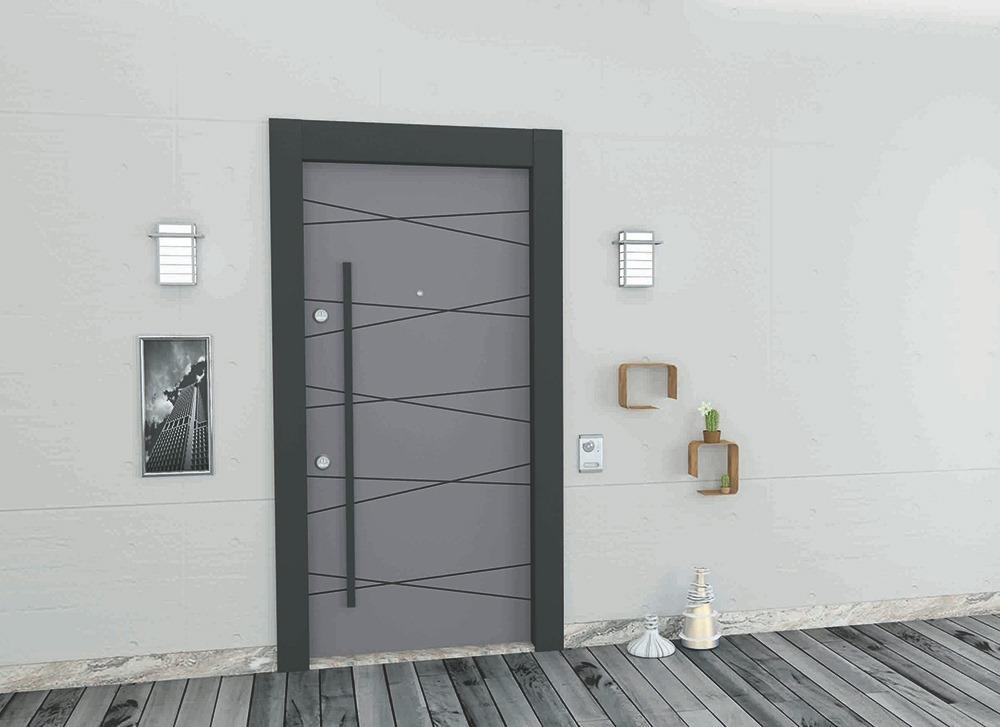 Steel Doors Platinum Violet