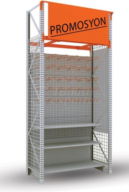 Heavy Duty Wall Rack - DIY Type