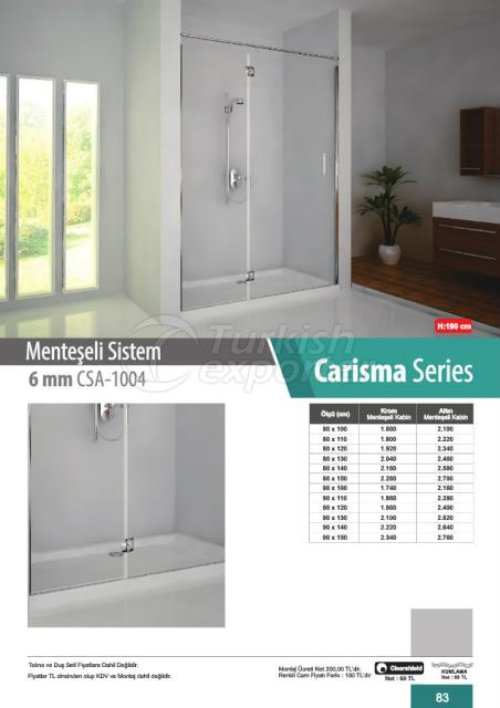 Shower Cabin Hinged Carisma