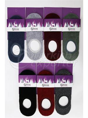 Women's Invisible Socks - 13261 (W81)