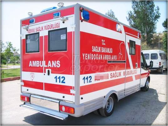Ambulancia de caja
