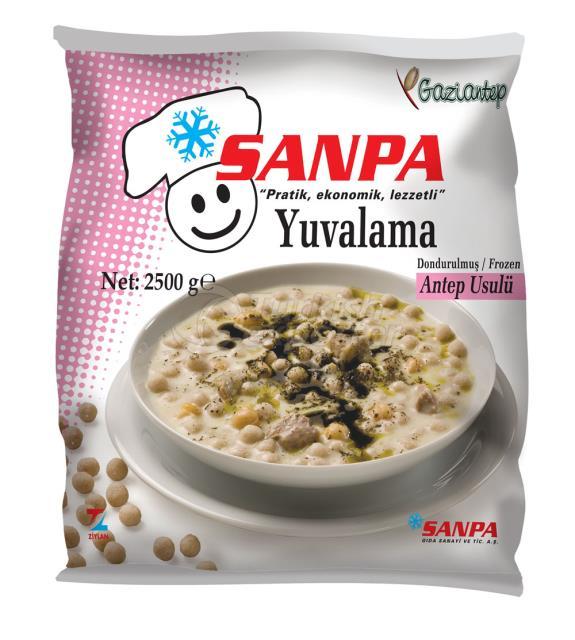 Sanpa Chickpeas and Dumpling Soup 2500gr